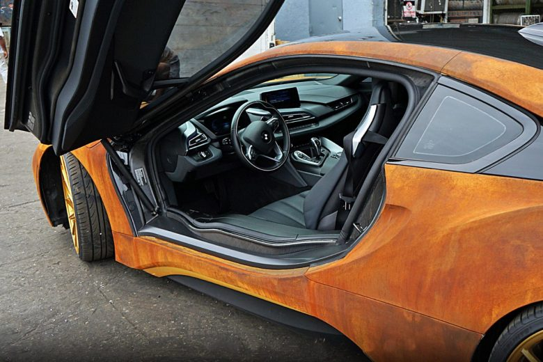 BMW i8 for Austin Mahone