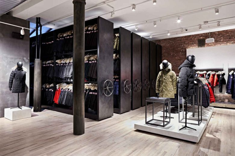 canada goose shop new york city
