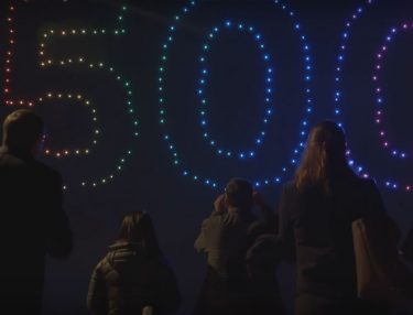Intel 500 Drone Light Show