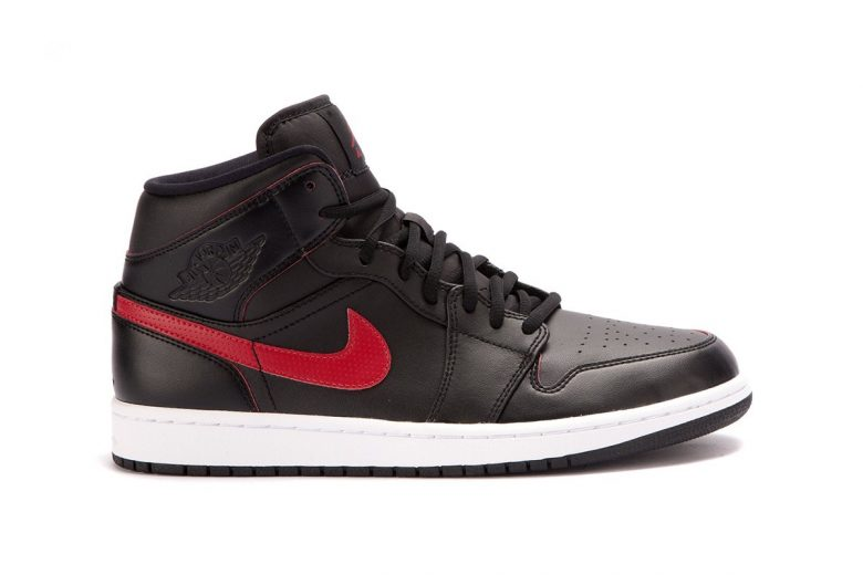 Air Jordan 1 Mid Black/Red