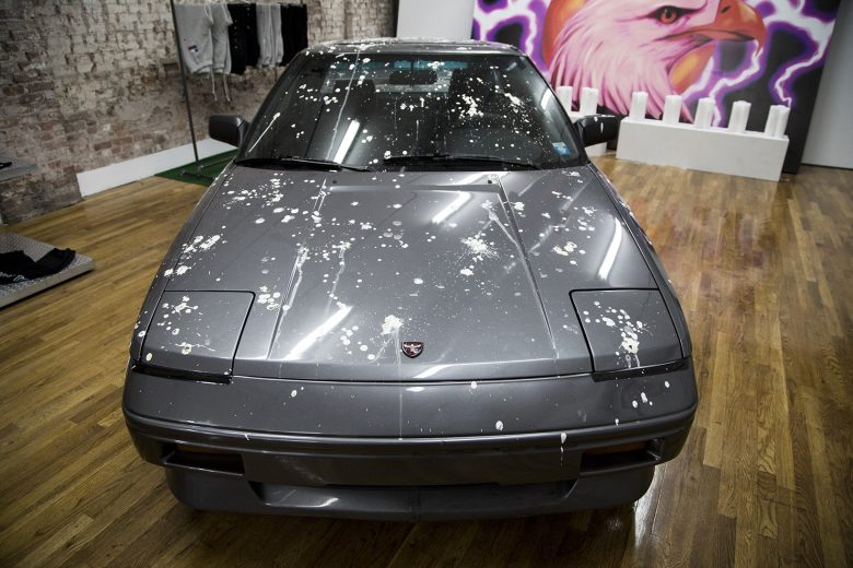 Travis Scott Hood Toyota Pop-Up