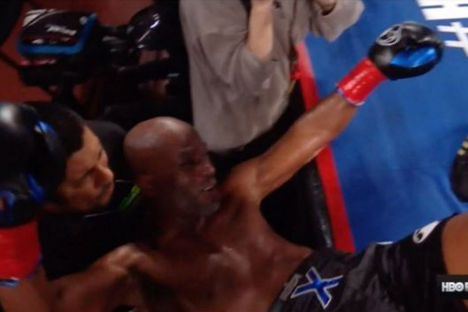 Bernard Hopkins Knocked Out of Ring in Final Fight