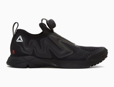 Vetements x Reebok Pump Supreme All-Black