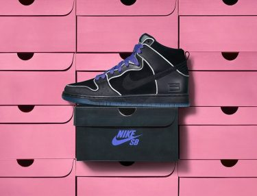 Nike SB Dunk High Purple Box