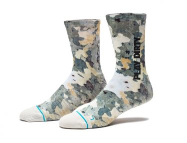Undefeated x Stance Tree Camo Socks
