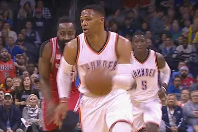 Russell Westbrook sets NBA record