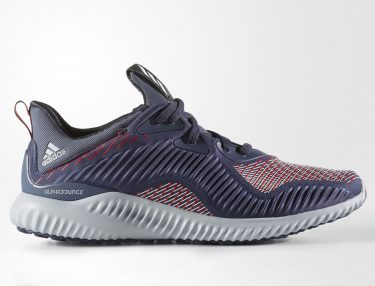 Adidas AlphaBounce Striped Midnight Grey White