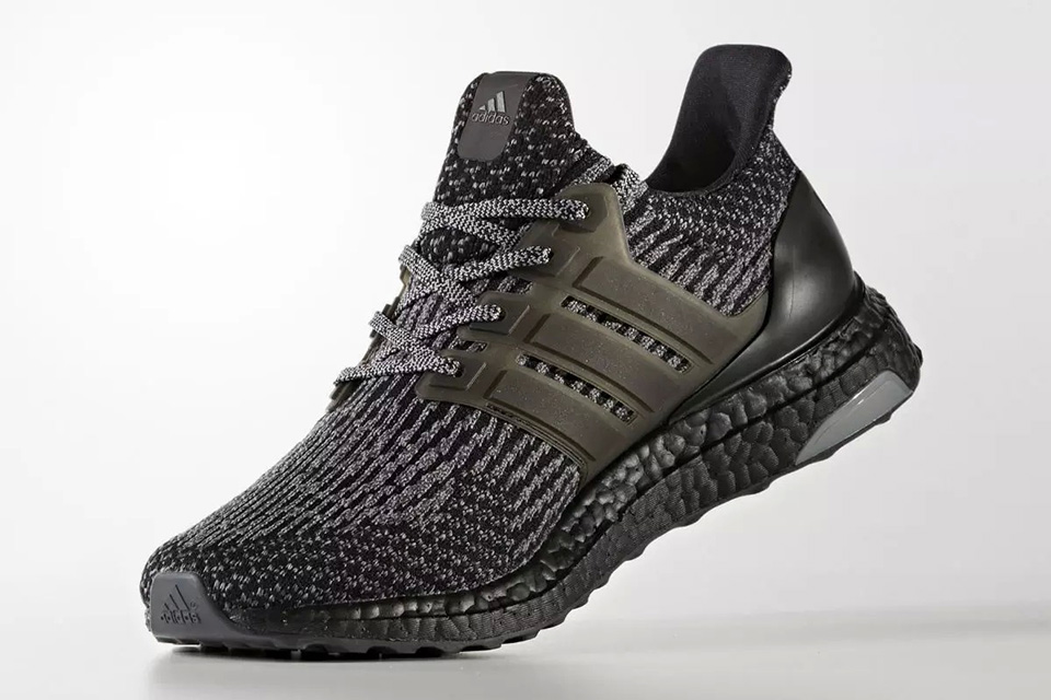 Adidas Ultra Boost 3.0 Black Silver
