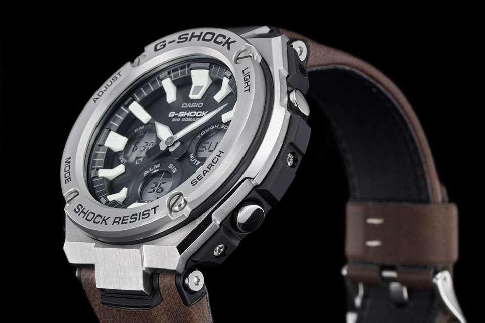 G-SHOCK Tough Leather Band