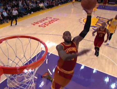 NBA Top 10 Dunks of 2016