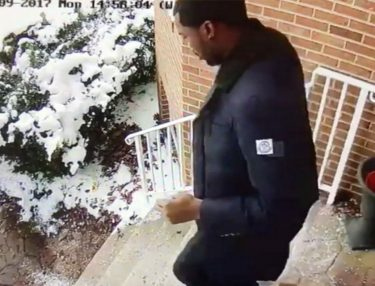 Meek Mill Slips in Snow & Falls in Bushes