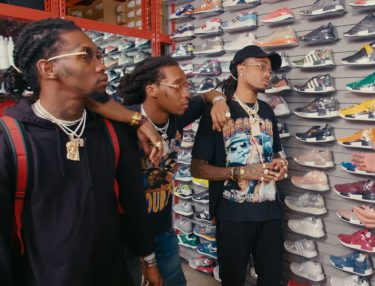 Migos Goes Sneaker Shopping in L.A.