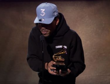 Chance The Rapper at 2017 Grammys