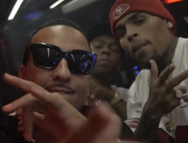French Montana and Chris Brown