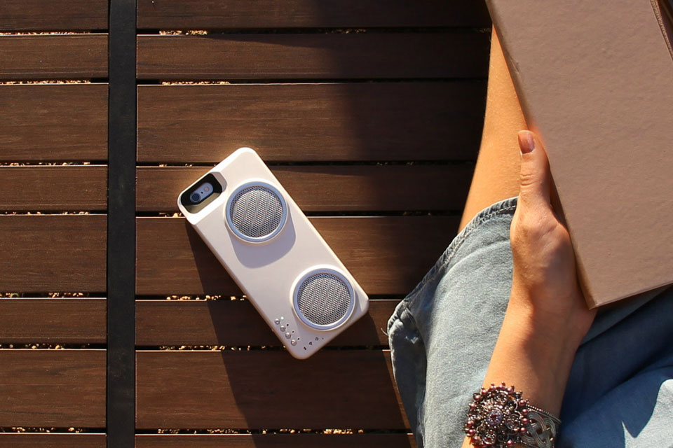 Peri Audio Duo iPhone Case
