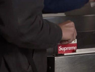 Supreme New York Subway MetroCard