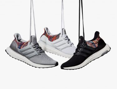 miAdidas Ultra BOOST With Rainbow Heel