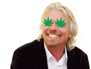 Richard Branson x Marijuana