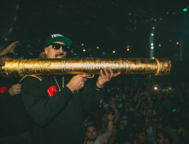 B-Real sparks 5-pound blunt.