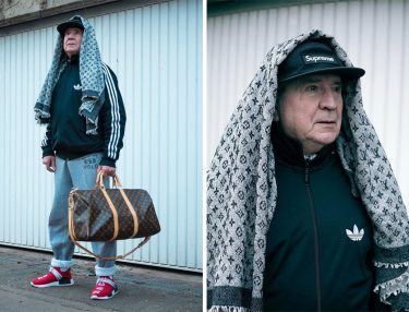71-Year-Old Grandpa wears Streetwear