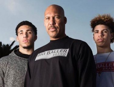 LaVar Ball and two sons: LaMelo and LiAngelo