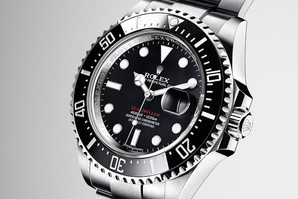 rolex unveils 50th anniversary sea dweller. Black Bedroom Furniture Sets. Home Design Ideas