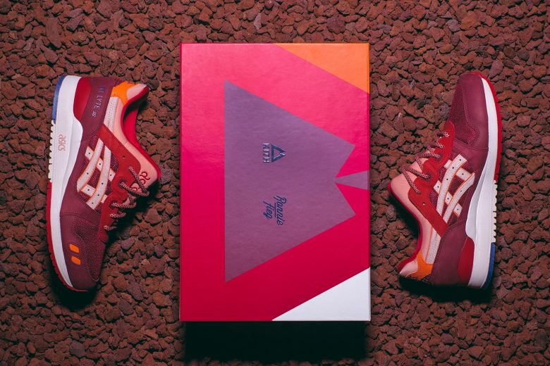 Ronnie Fieg x ASICS Volcano 2.0 Collection