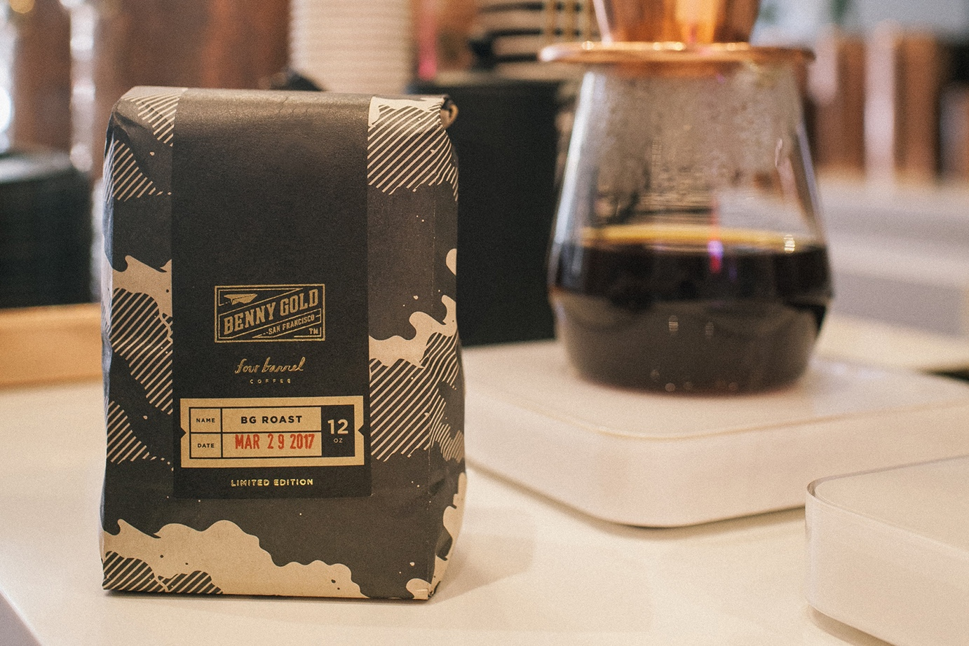 Benny Gold x Four Barrel Coffee Special Edition Roast