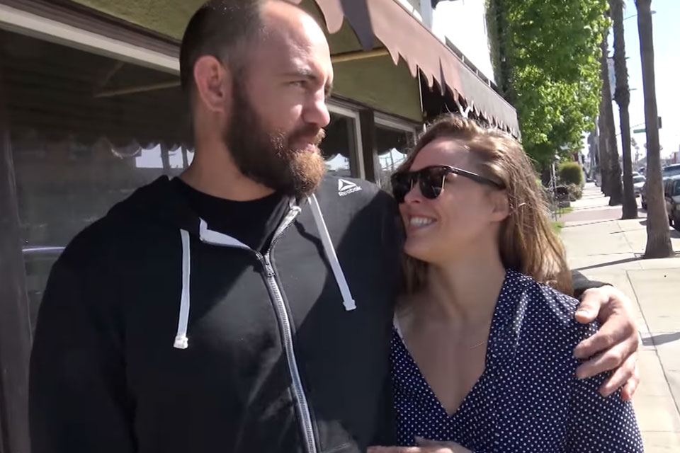 Travis Browne and Ronda Rousey