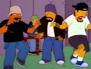 Cypress Hill x The Simpsons