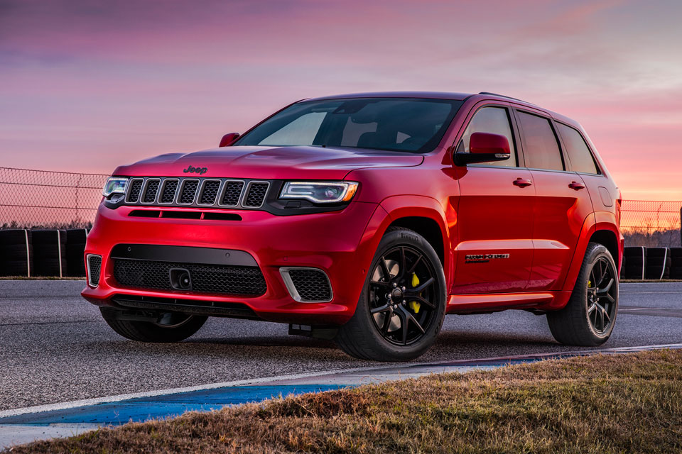 First Look at 707-HP 2018 Jeep Grand Cherokee Trackhawk