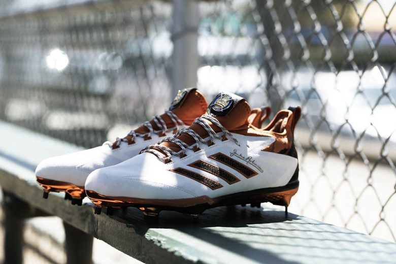 Adidas Honors Jackie Robinson with Special Edition Cleat