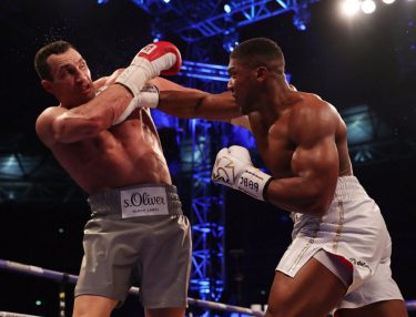 Anthony Joshua Knocks Out Wladimir Klitschko