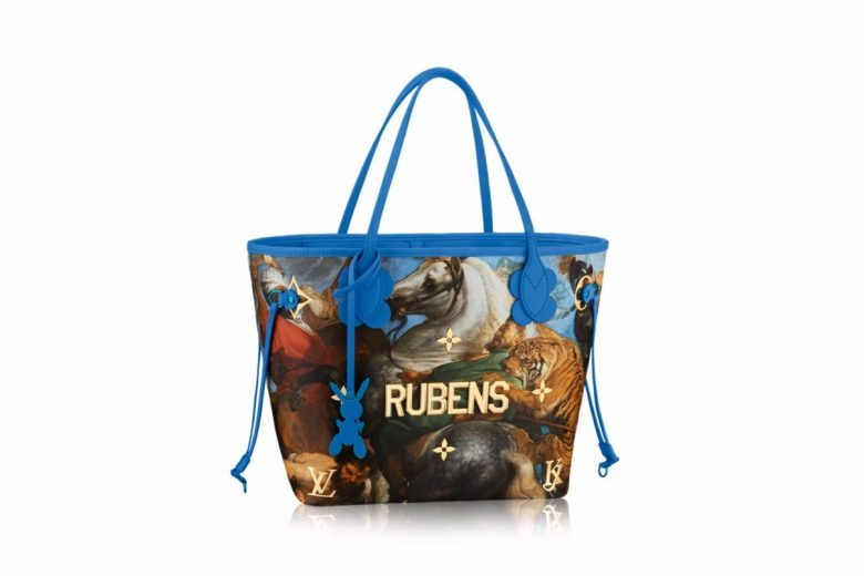 Jeff Koons x Louis Vuitton Masters Collection
