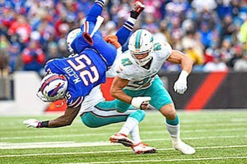 LeSean McCoy and Kiko Alonso