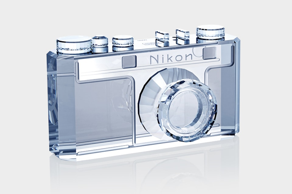 Nikon 100th Anniversary Crystal Model I Replica
