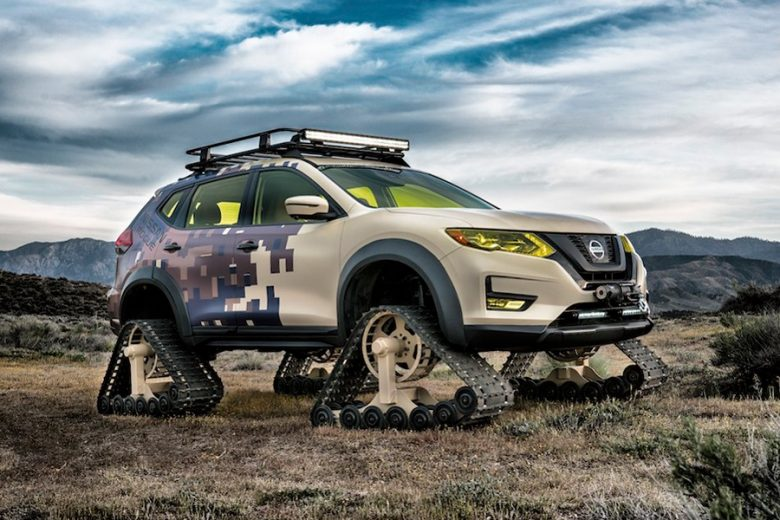 nissan unveils crazy off road project rogue trail warrior. Black Bedroom Furniture Sets. Home Design Ideas