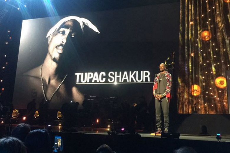 Image result for Tupac Officially Inducted Into Rock & Roll Hall Of Fame By Snoop Dogg