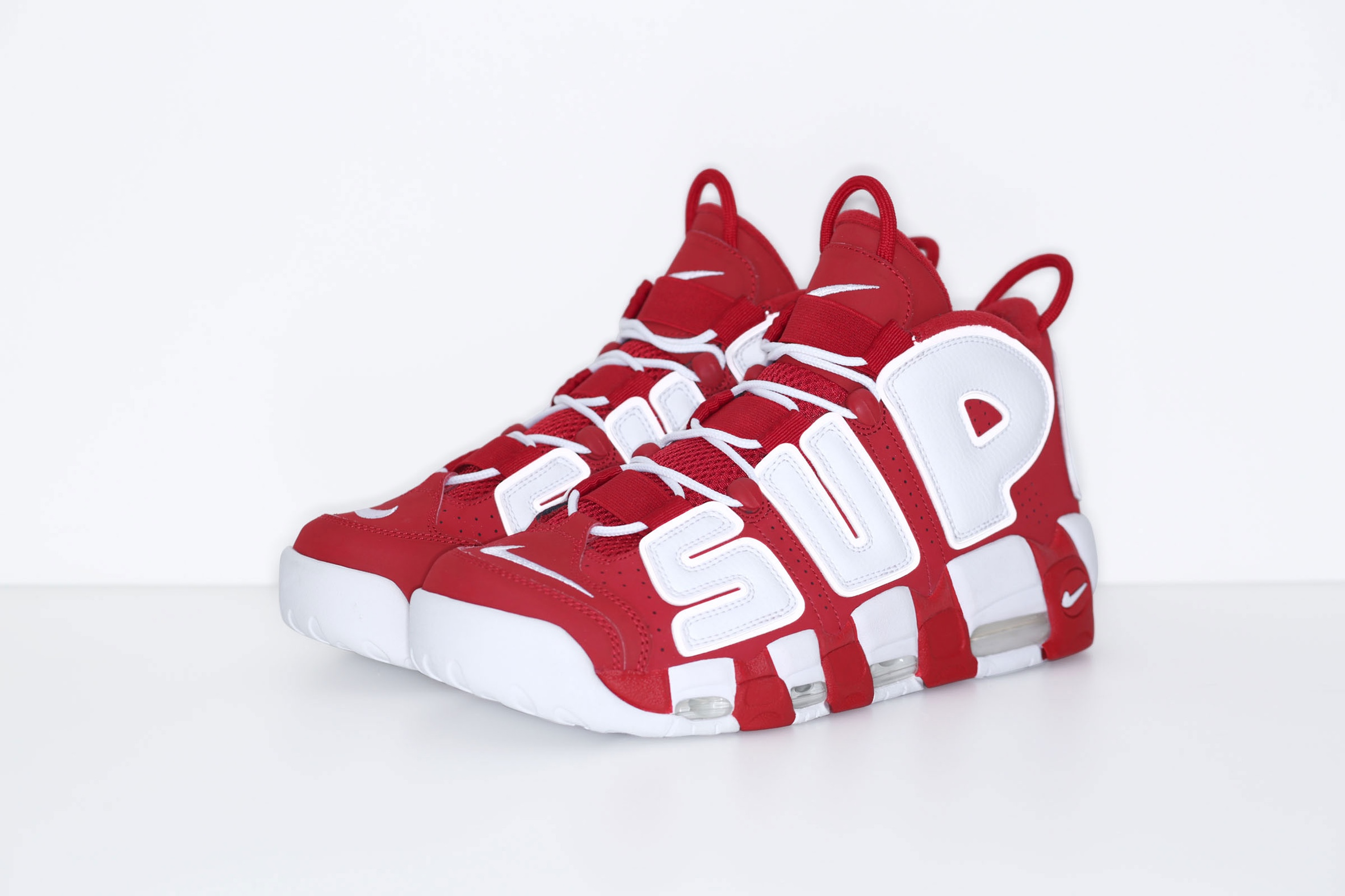 Official Release Announced For Supreme x Nike Air More Uptempo