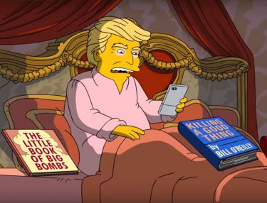 The Simpsons Spoofs Donald Trump's First 100 Days in Office