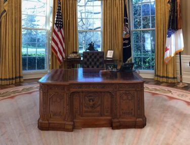 Donald Trump's Oval Office