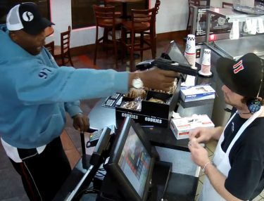Jimmy John's Cashier Unfazed About Being Robbed at Gunpoint