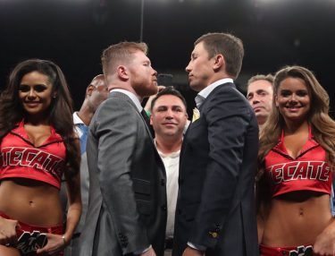Canelo Alvarez and GGG