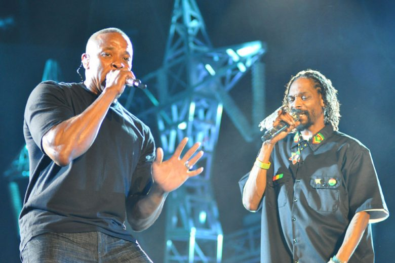 Dr. Dre and Snoop Dogg