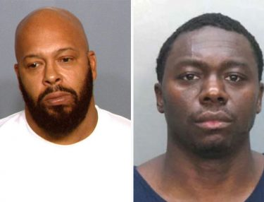 Suge Knight and Jimmy Henchman