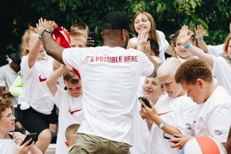 Bryson Tiller Teams Up With Nike to Restore Louisville Basketball Court
