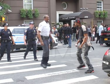 Fight Erupts Outside Prodigy's Funeral Service