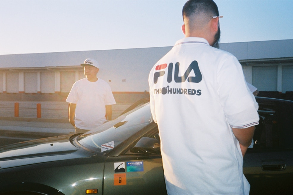 The Hundreds x FILA Collection
