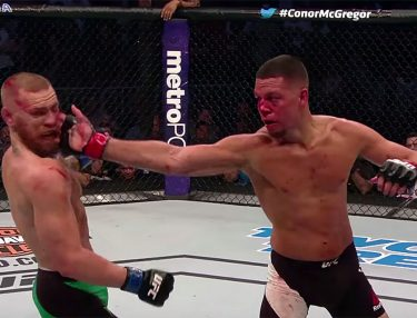 Nate Diaz delivers Stockton slap to Conor McGregor