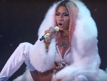 Nicki Minaj Performs at NBA Awards